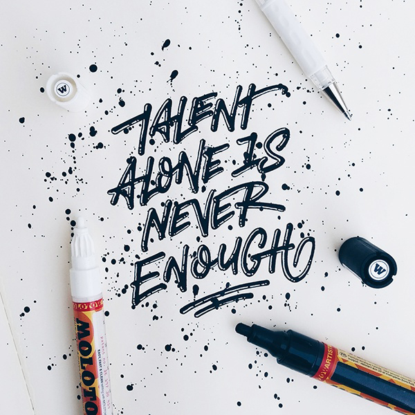Remarkable Lettering and Typography Design for Inspiration - 30
