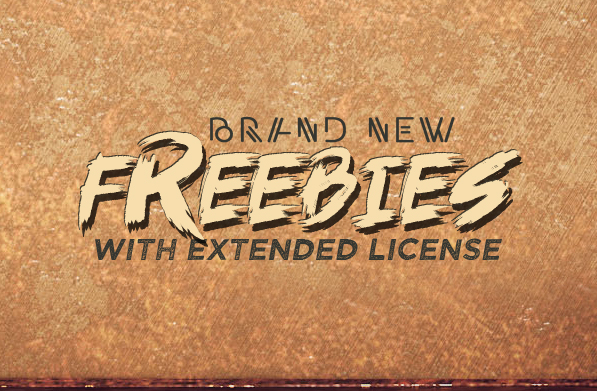 Brand new freebie for your projects
