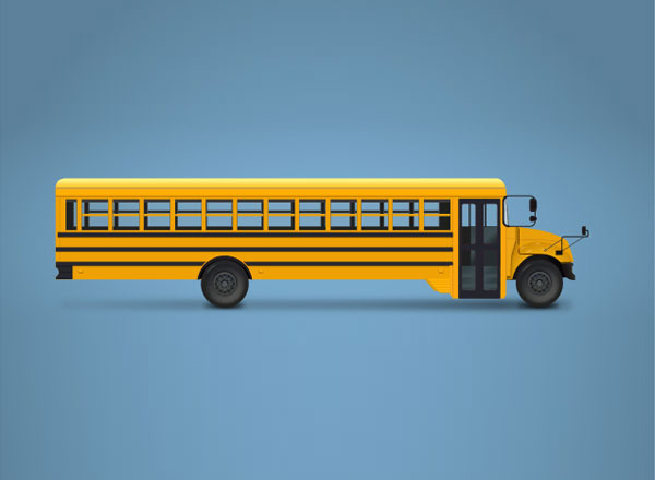 How to Create a School Bus Illustration in Adobe Illustrator