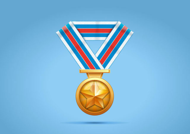 How to Create a Gold medal in Adobe Illustrator
