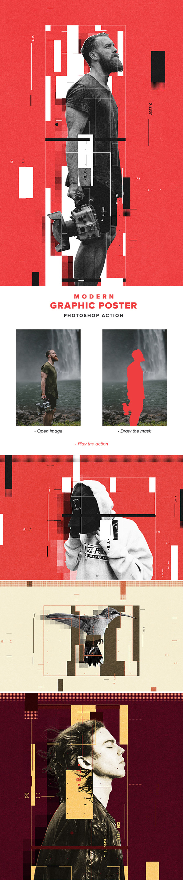 Modern Graphic Poster Action