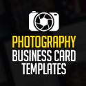 Post Thumbnail of Creative Photography Business Card PSD Templates