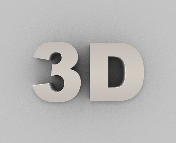 How to Create a 3D Text Effect Action: Photoshop in 60 Seconds