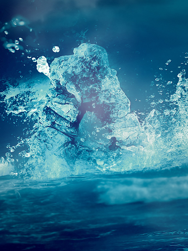 How to Make a 'Rock Riding the Wave' Text Effect in Photoshop