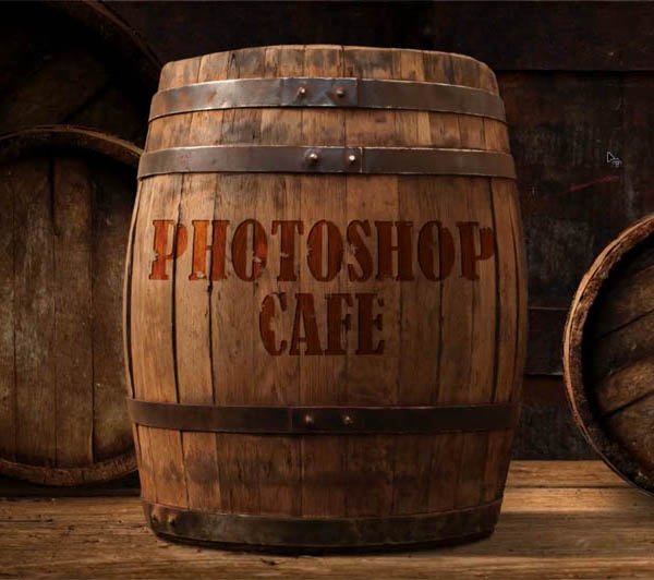 How to blend text into a photo realistically in Adobe Photoshop Tutorial