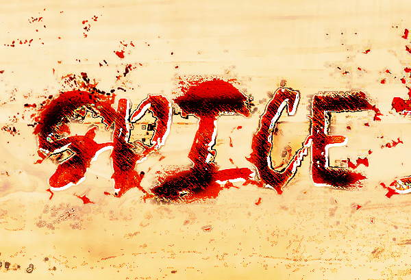 How to Design Red Hot Chili Pepper Text Effect in Photoshop