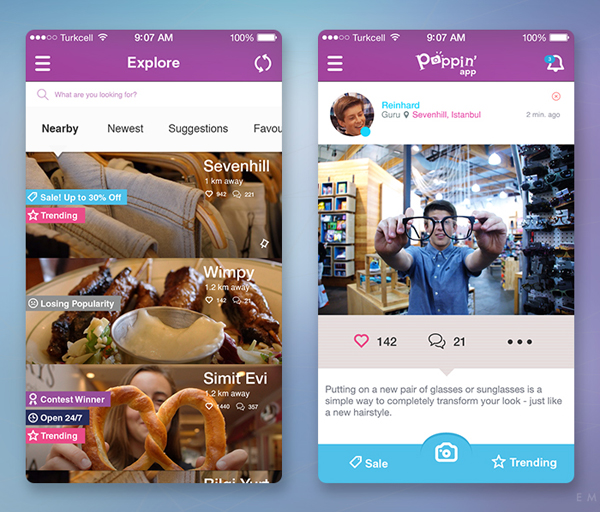 Modern Mobile App UI Design with Amazing User Experience - 34