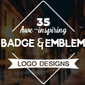 Post thumbnail of 35 Awe-Inspiring Badge & Emblem Logo Designs