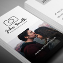 Post thumbnail of Freebie – Minimal Photographer Business Card PSD Template