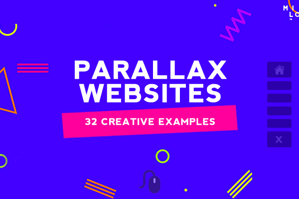 Websites Design with Parallax Effect – 32 Creative Examples