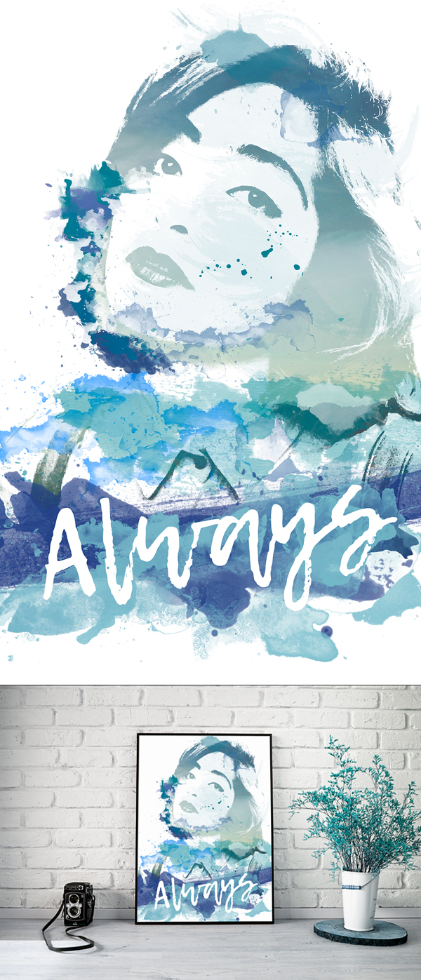 Learn How to Apply Watercolor Effect to Photography in Photoshop tutorials