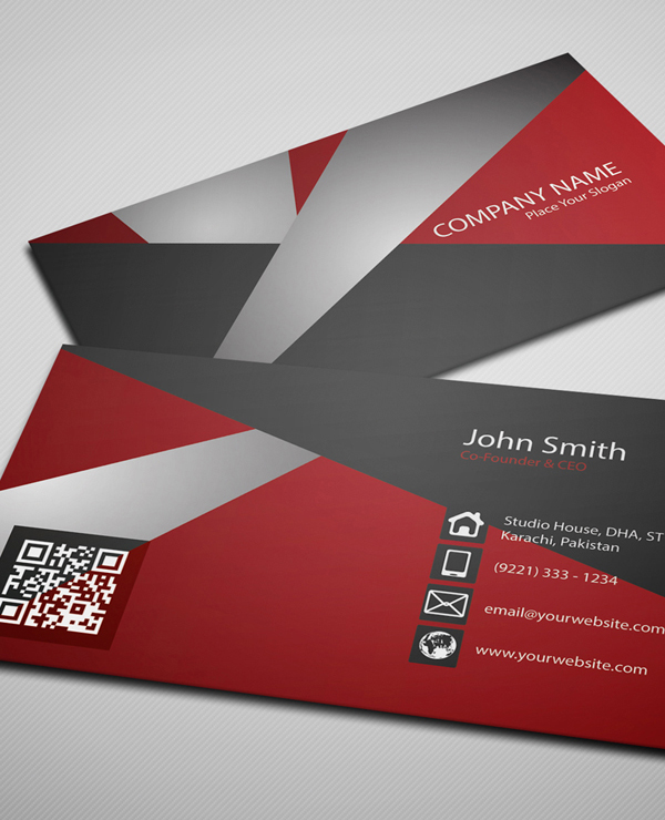 26 Modern Free Business Cards PSD Templates - 15