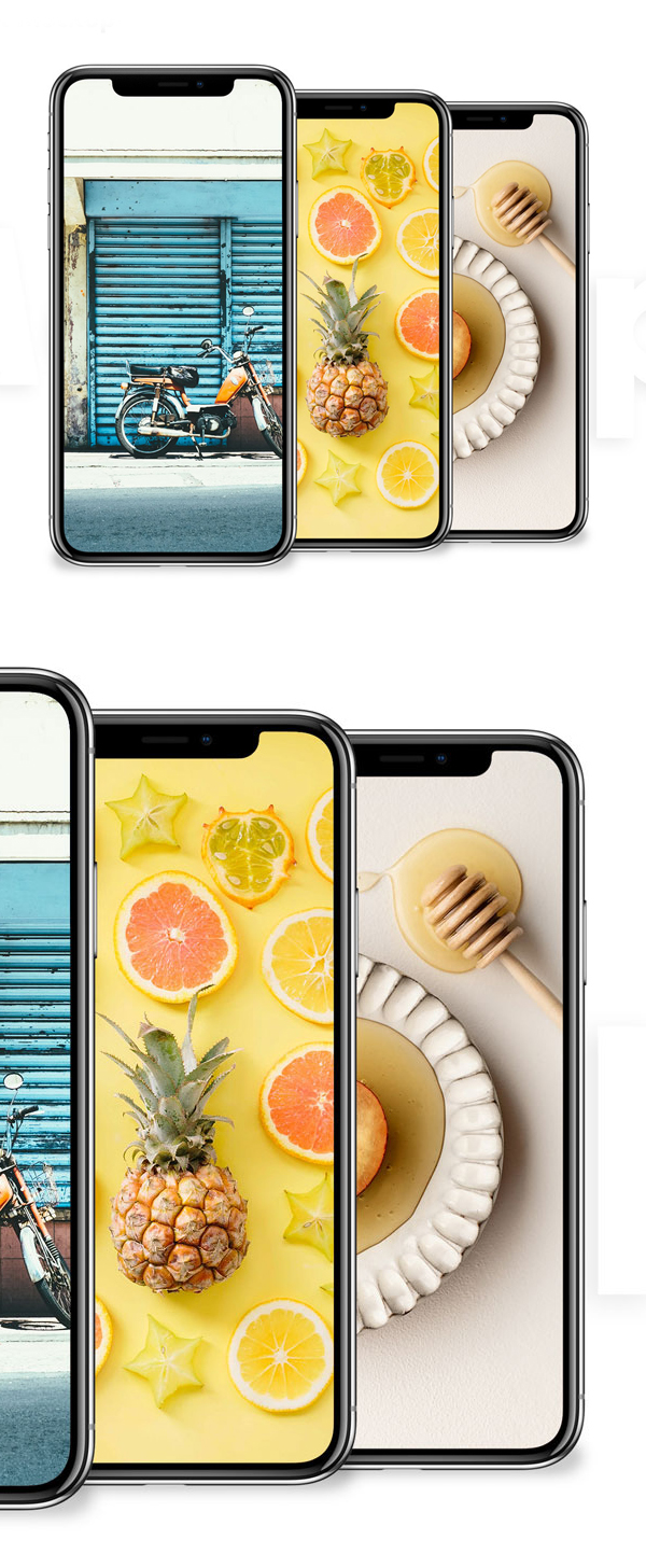 Free Download iPhone X PSD Mockups and Sketch - 11