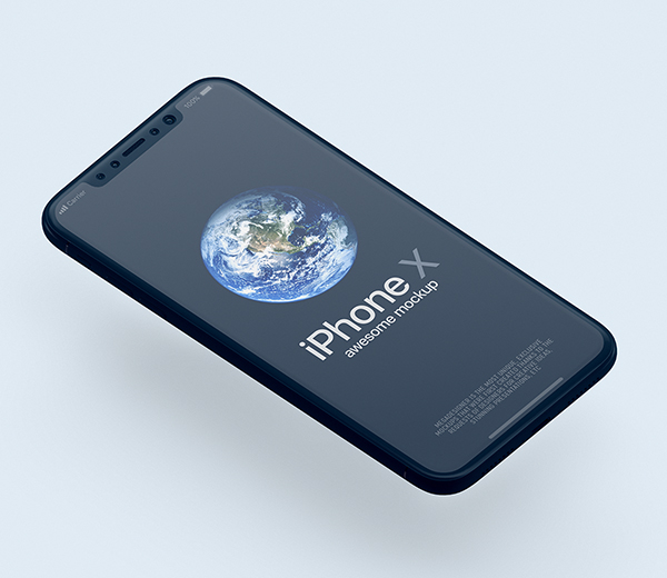 Free Download iPhone X PSD Mockups and Sketch - 13