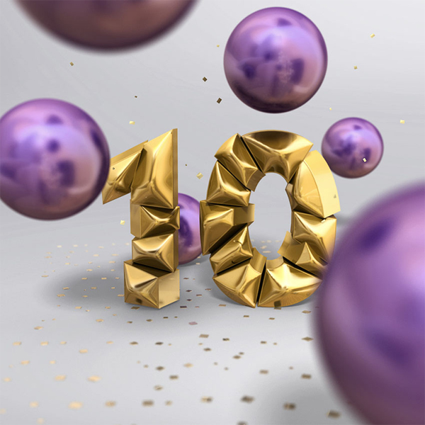 How to Create a 3D, Shiny, Inflated Text Effect in Adobe Photoshop