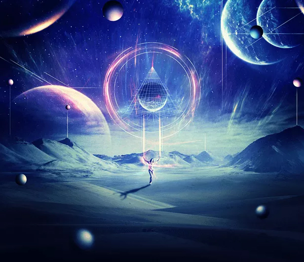 Create an Abstract Sci-Fi Scene with Photoshop