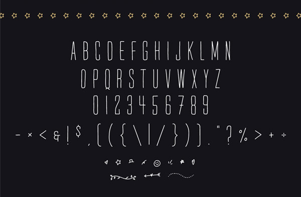 Mr. Quincy Free Font Letters