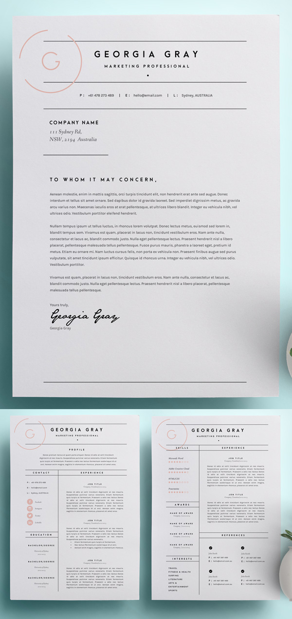 50 Best Resume Templates For 2018 - 1
