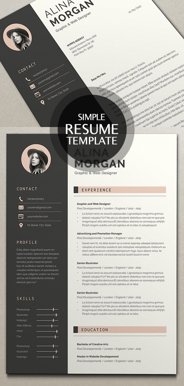 50 Best Resume Templates For 2018 - 11
