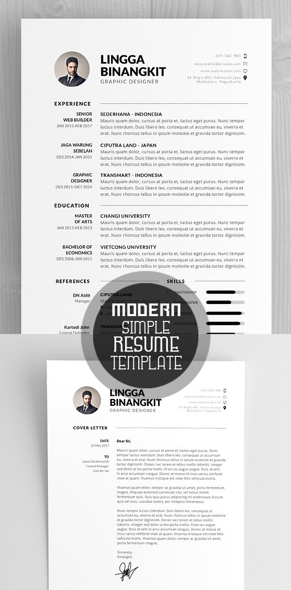 50 Best Resume Templates For 2018 - 12