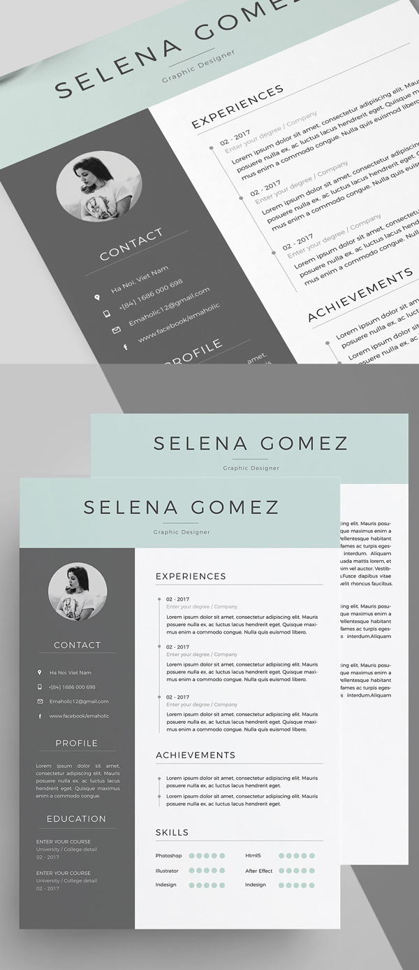 50 Best Resume Templates For 2018 - 13