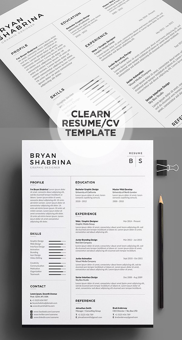 50 Best Resume Templates For 2018 - 15