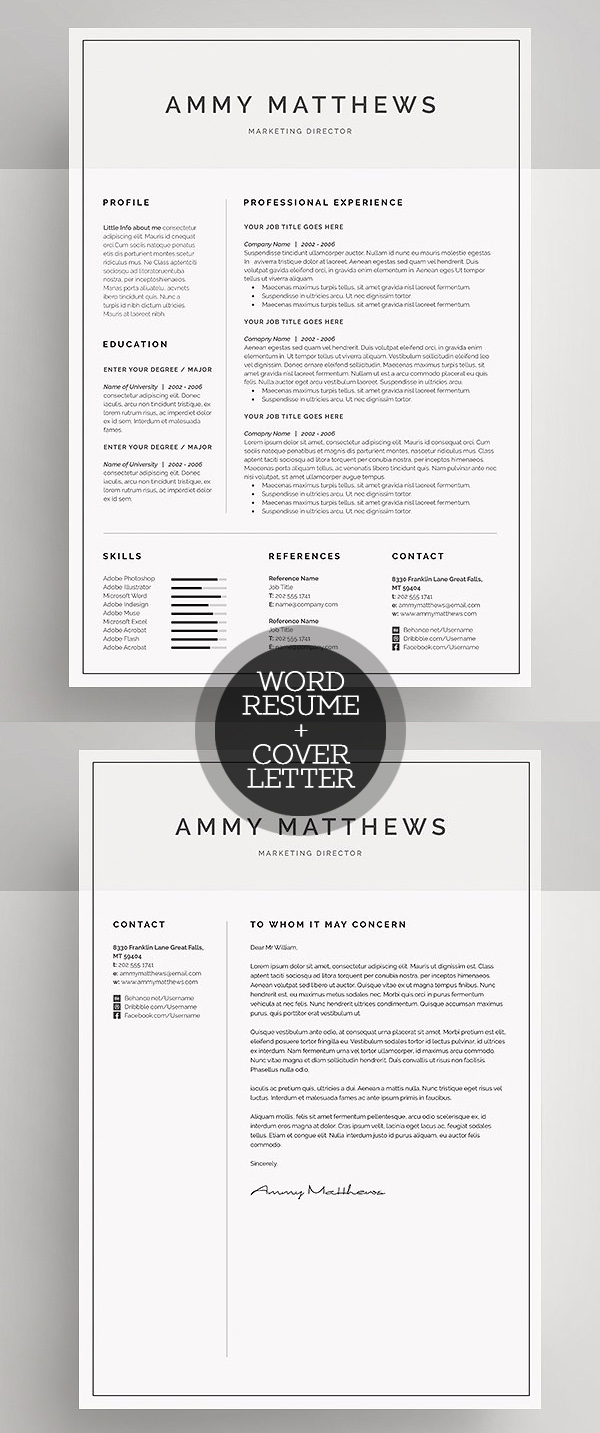 50 Best Resume Templates For 2018 - 18