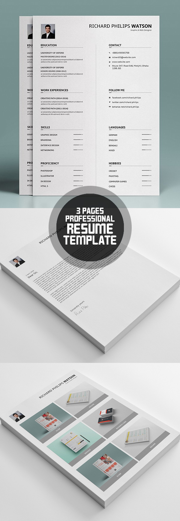 50 Best Resume Templates For 2018 - 24