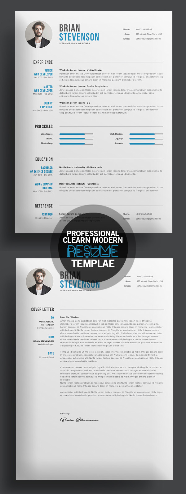50 Best Resume Templates For 2018 - 31