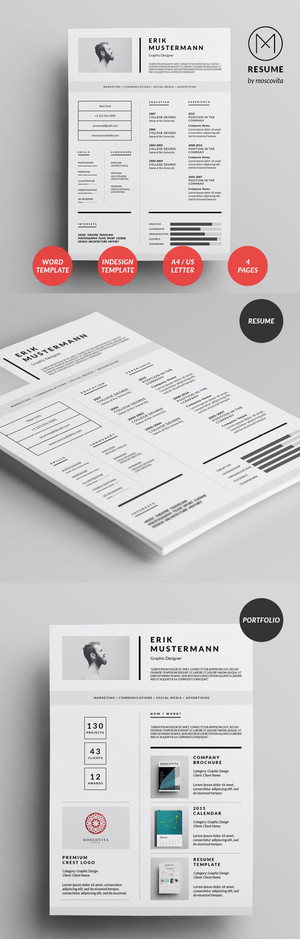 50 Best Resume Templates For 2018 - 32