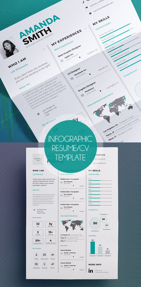50 Best Resume Templates For 2018 - 33