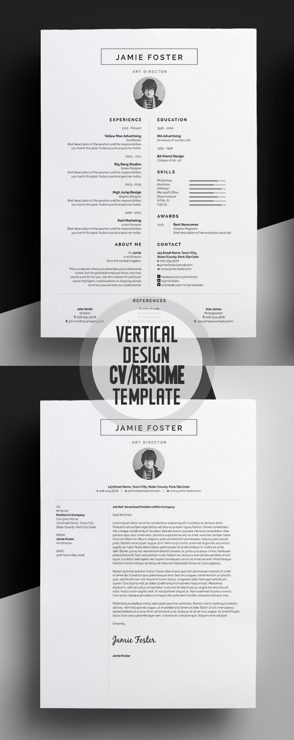 50 Best Resume Templates For 2018 - 4