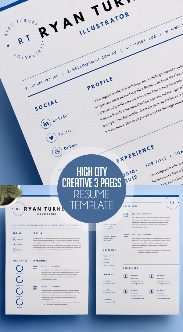 50 Best Resume Templates For 2018 - 40