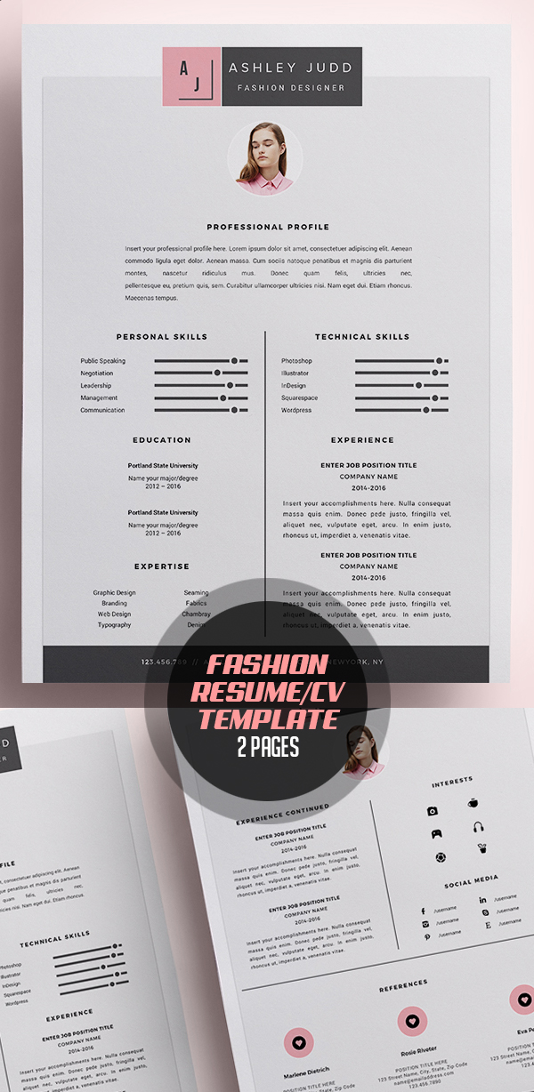 50 Best Resume Templates For 2018 - 41