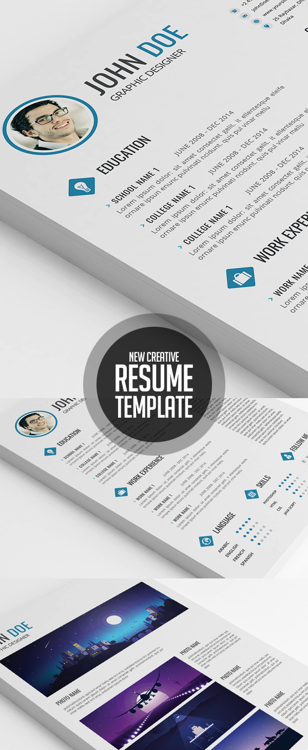 50 Best Resume Templates For 2018 - 42