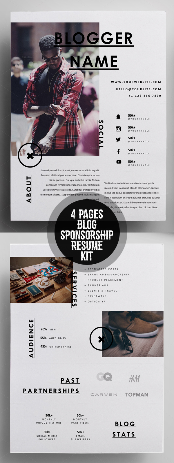 50 Best Resume Templates For 2018 - 47
