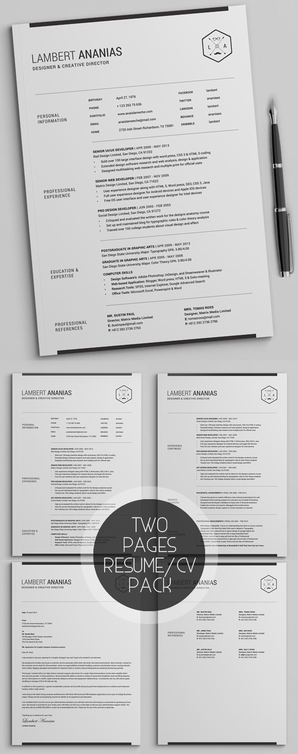50 Best Resume Templates For 2018 - 5