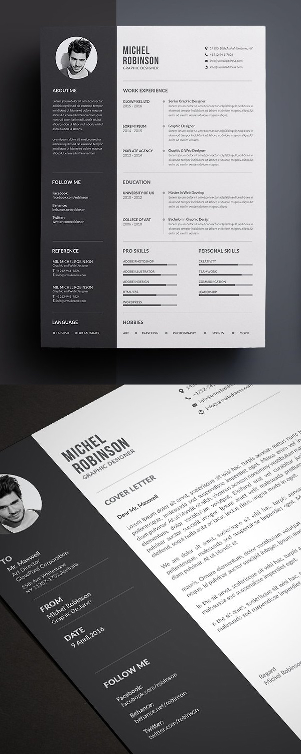 50 Best Resume Templates For 2018 - 50