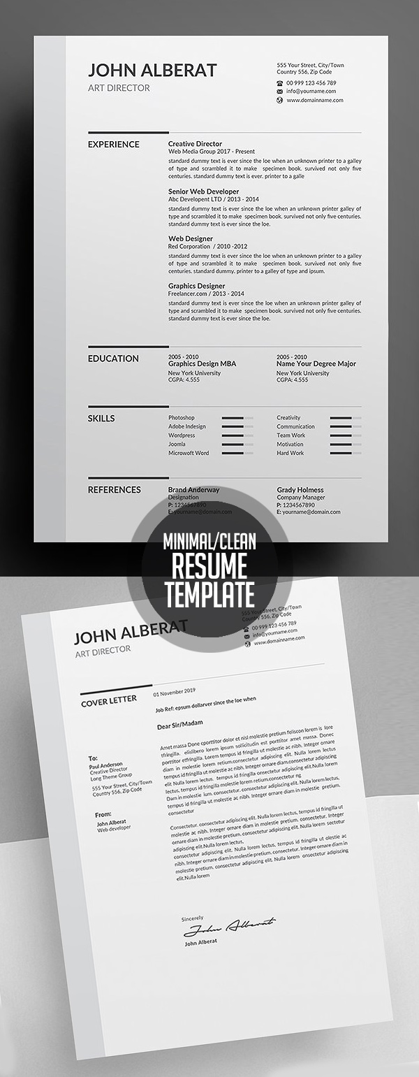 50 Best Resume Templates For 2018 - 6