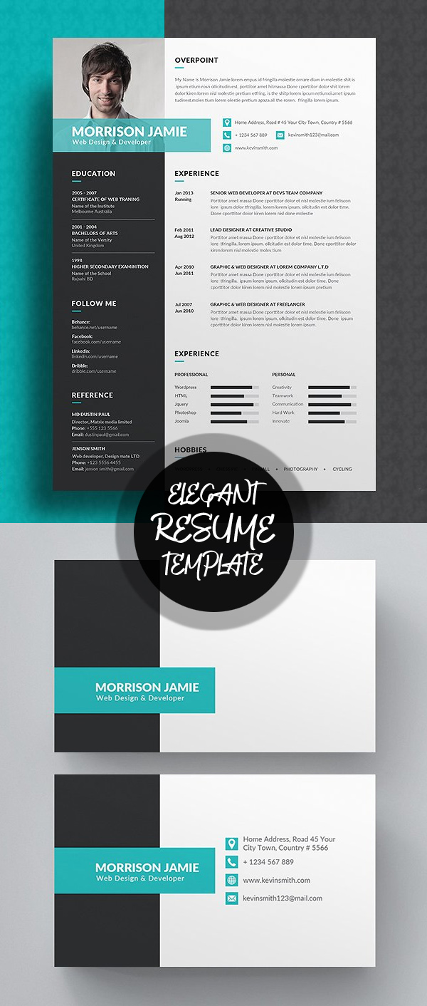 50 Best Resume Templates For 2018 - 8
