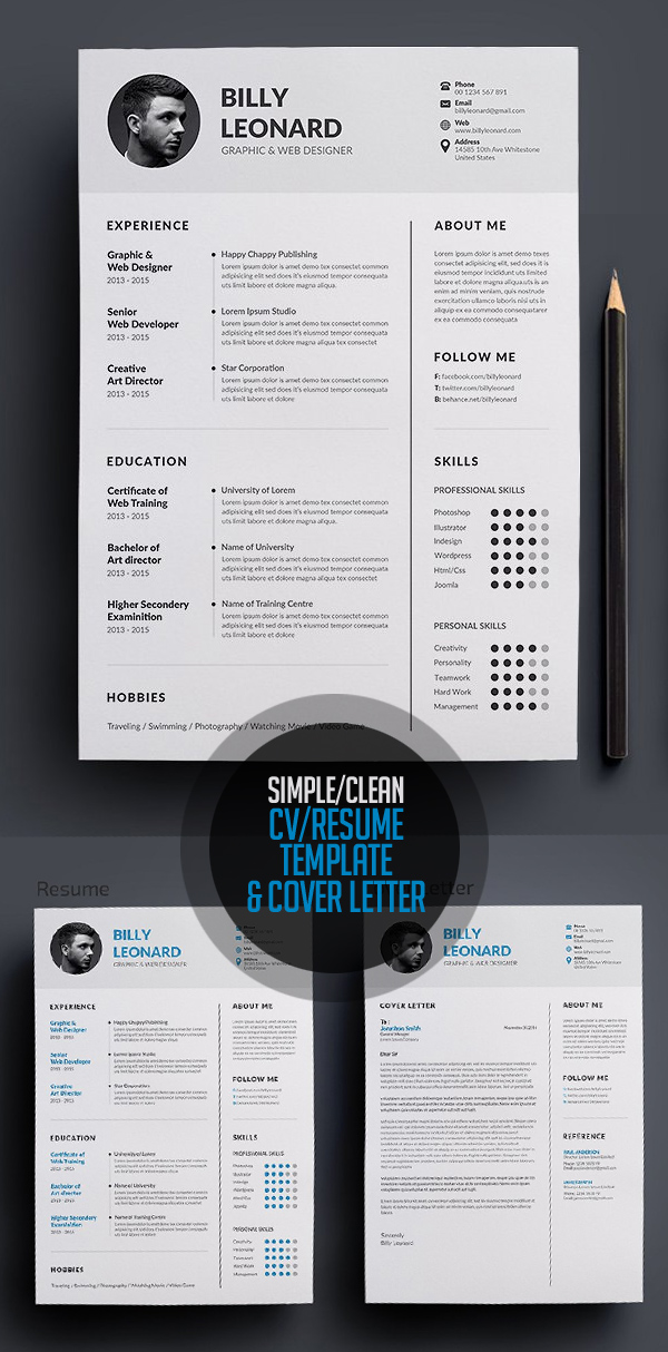 50 Best Resume Templates For 2018 - 9