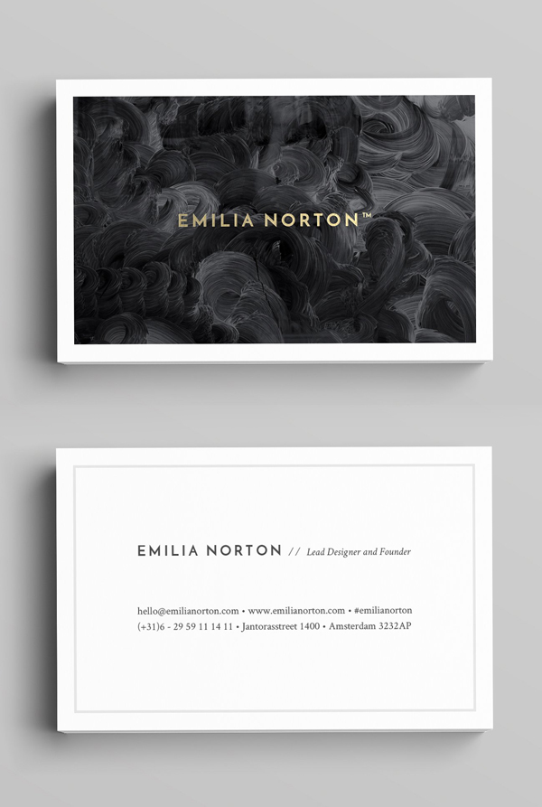 Modern and Clean Business Card Template
