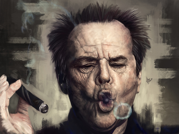 Amazing Digital Illustrations and Painting Art by Ahmed Karam - 16