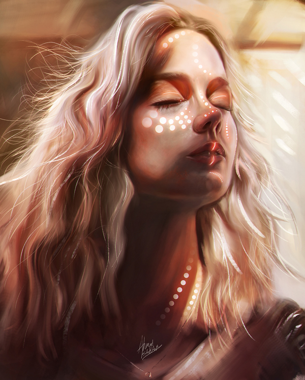 Amazing Digital Illustrations and Painting Art by Ahmed Karam - 22