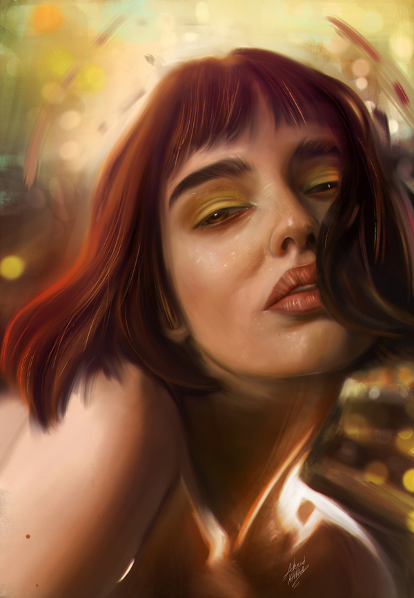 Amazing Digital Illustrations and Painting Art by Ahmed Karam - 5