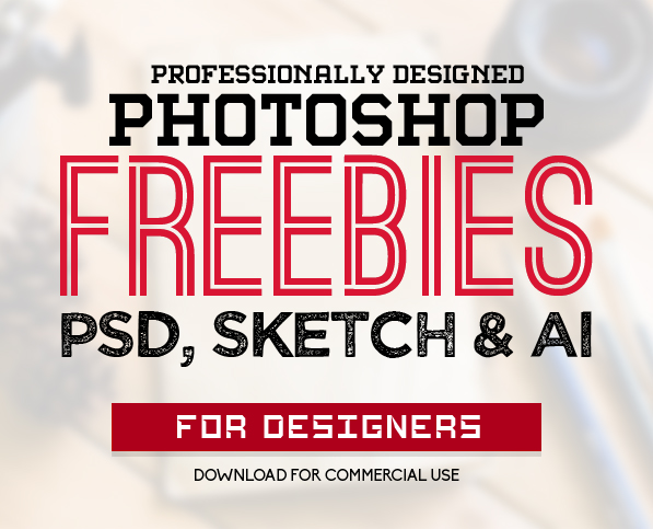 30 New Useful Free Photoshop PSD Files for Graphic Designers