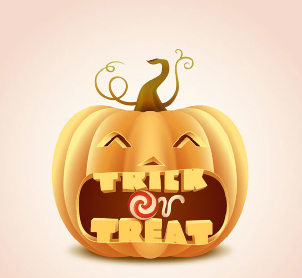 How to Draw A Trick or Treat Pumpkin in Illustrator