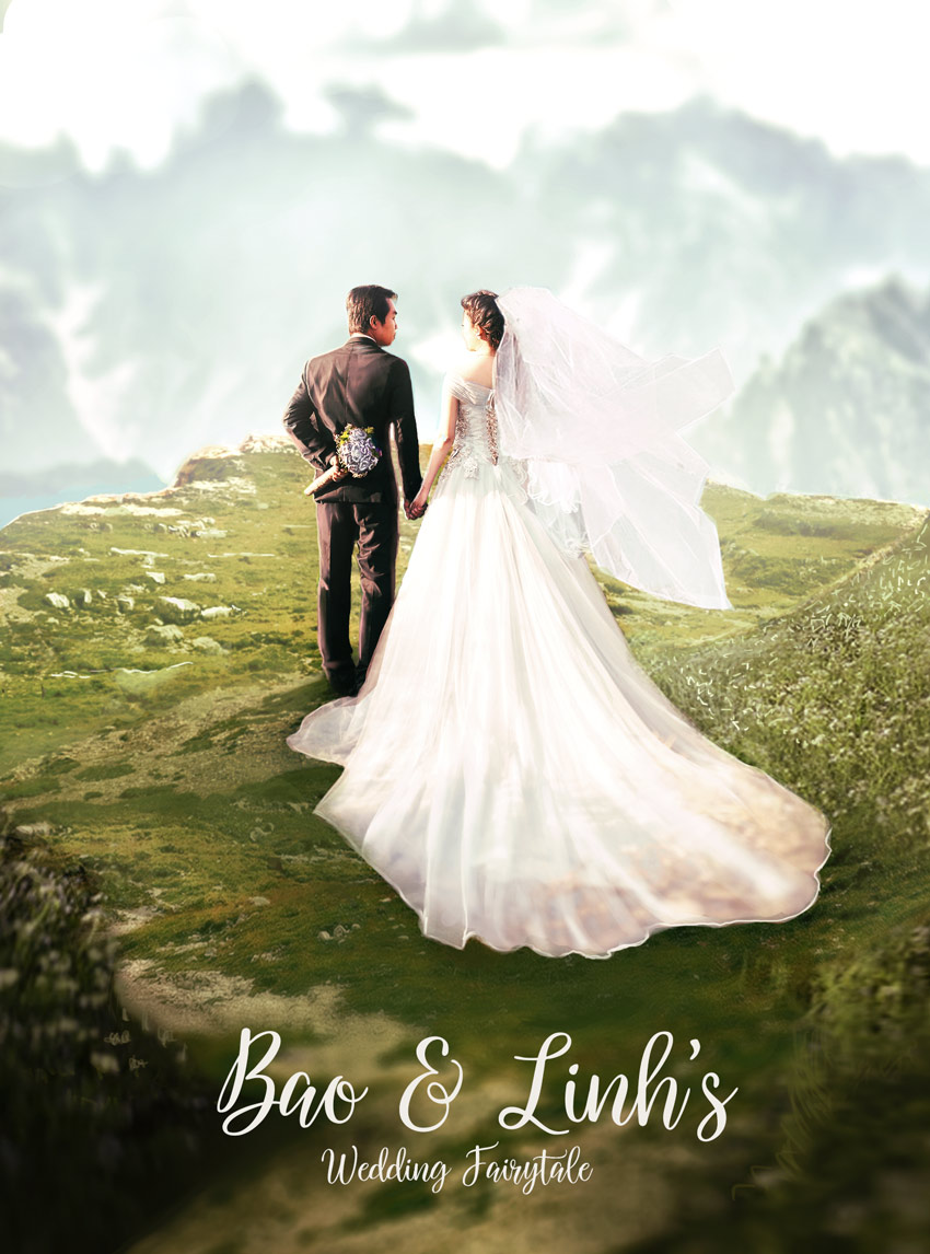 How to Create a Romantic Wedding Photo Manipulation in Adobe Photoshop