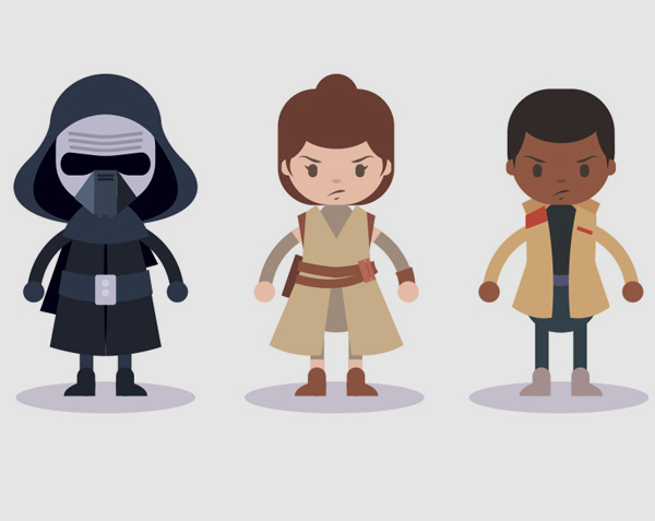 Free Vector Star Wars Characters