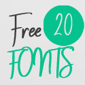 Post thumbnail of 20 Fresh Free Fonts for Creative Designers